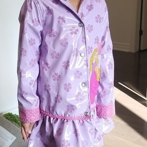 2/10$ Kids Disney raincoat